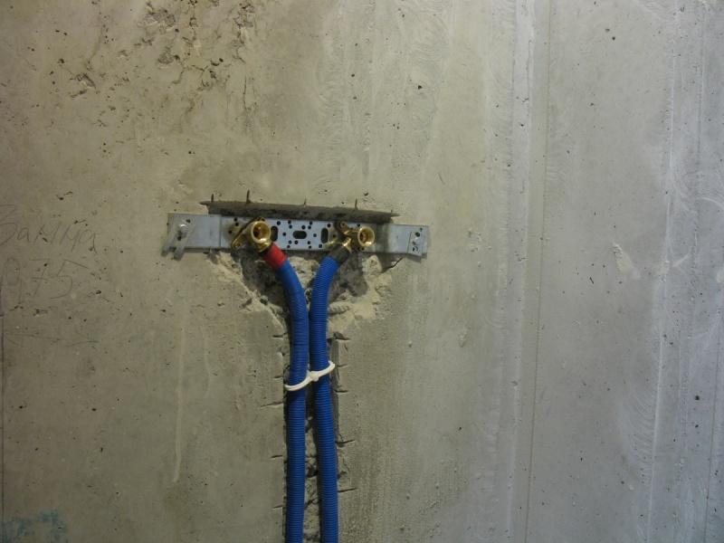 разводка металлопластиковой трубы под краны
