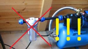 5 самых частых ошибок при установке насосных станций и насосов